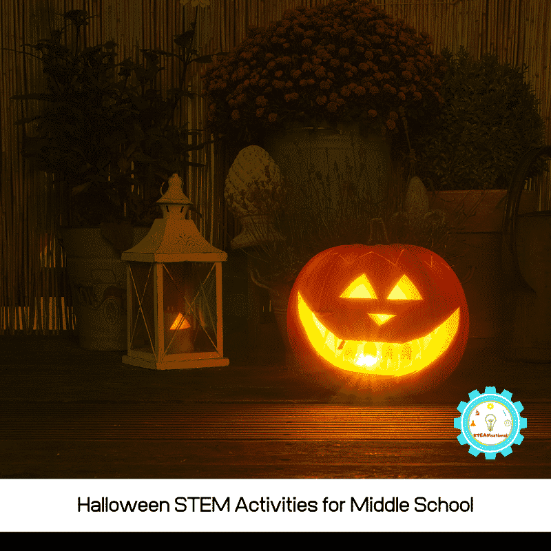 Try the Halloween STEM activities for middle school and bring some spook factor into class! Halloween STEM challenges have never been so fun!