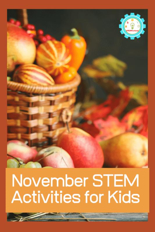 november stem activities for kids