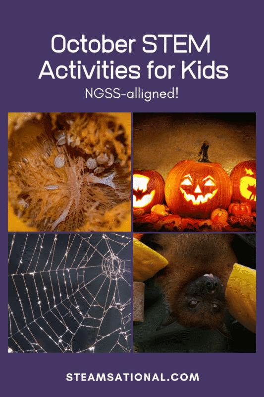 october stem activities for kids