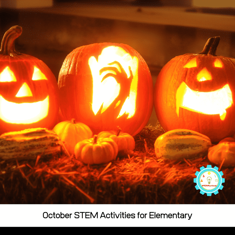 If you are teaching science and want some October STEM challenges, try these NGSS-aligned hands-on October STEM activities with your class!