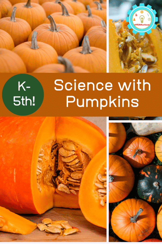 Love fall and pumpkins? You'll love this list of pumpkin science activities and pumpkin experiments that teach a variety of pumpkin science concepts to kids.
