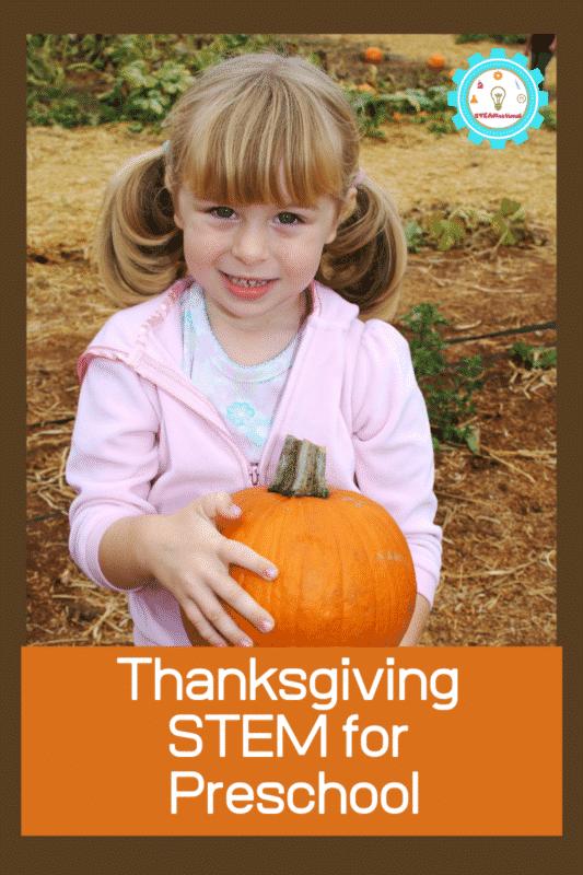 thanksgiving stem for preschool