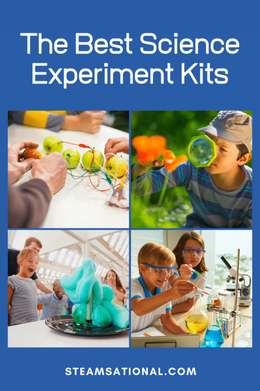 If your kids love science, or you are hoping to develop a love of science in your kiddos, then you'll want to check out this list of science experiment kits for kids!