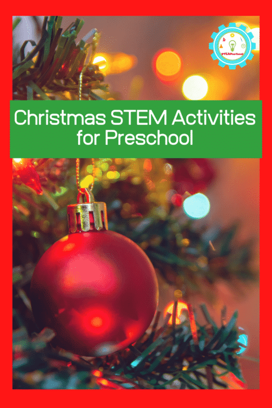 Preschoolers are so much fun to learn with, because everything is amazing to them! Capture that spirit of wonder with these Christmas STEM activities for preschool.