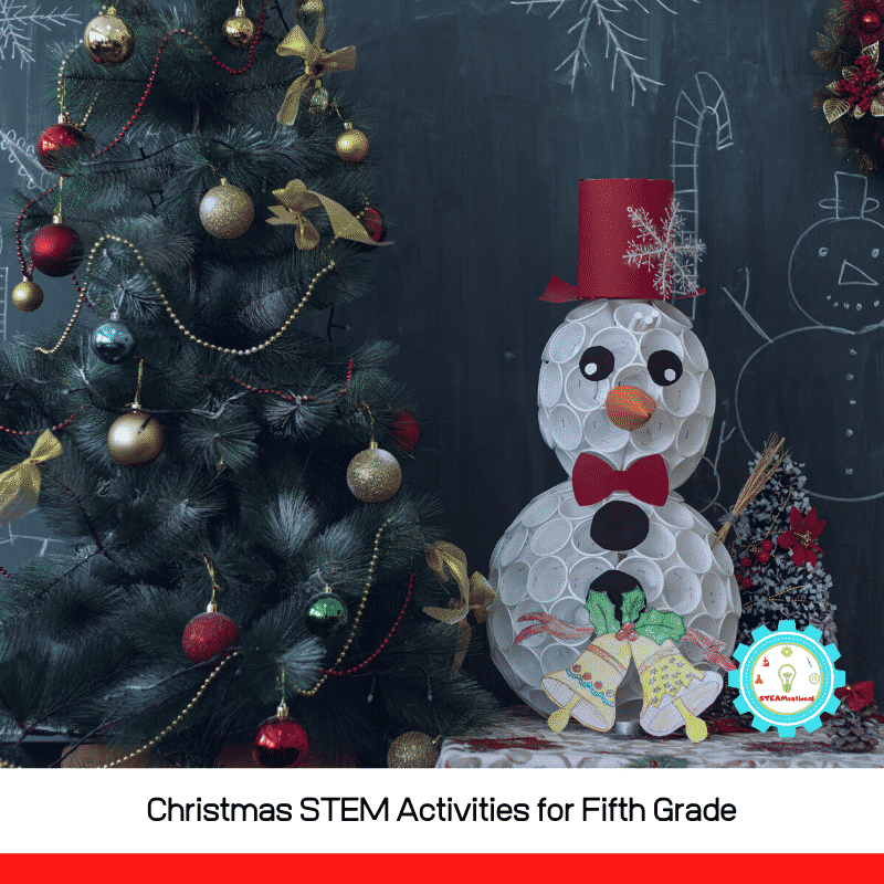 These Christmas STEM activities for 5th grade are sure to engage even the most reluctant 5th grader and spark a love of science!