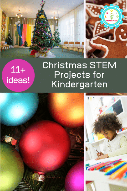 During December, why not make your science activities Christmas STEM activities for kindergarten? You may just find that the holiday season is your favorite holiday for science!