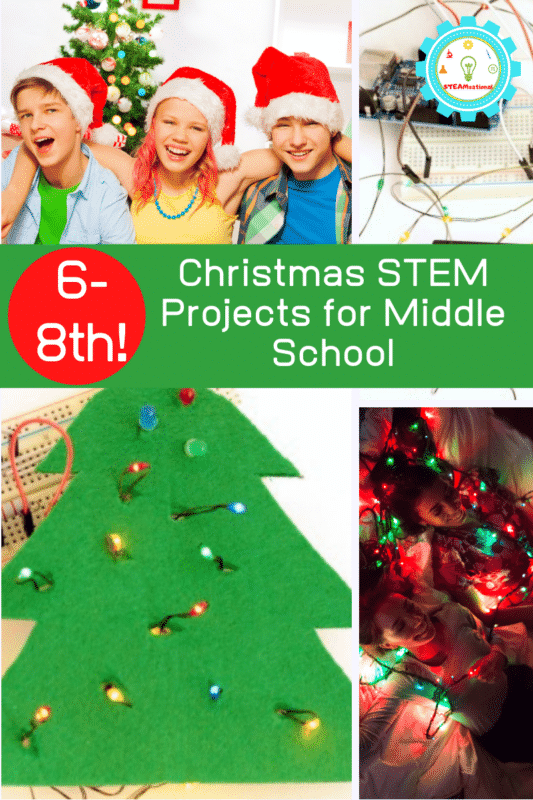 Christmas STEM Projects for Middle School