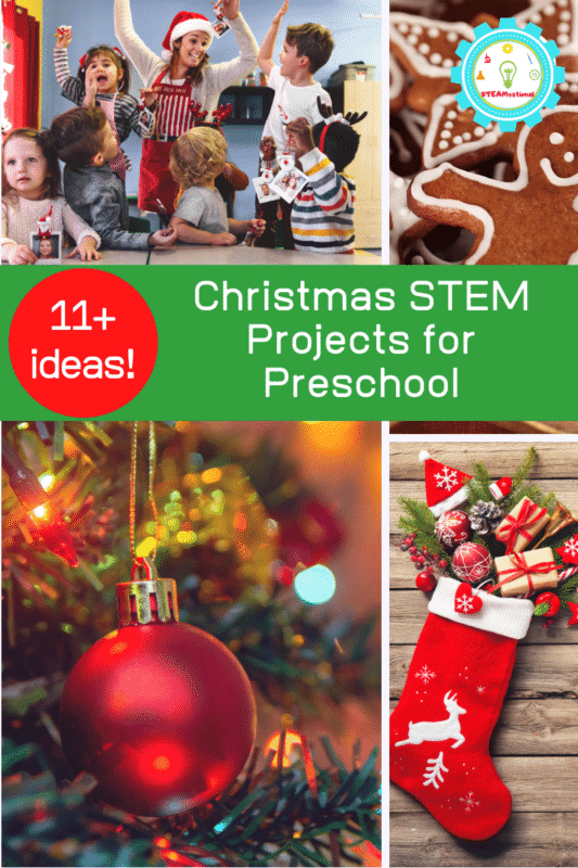 Christmas STEM Projects for Preschool