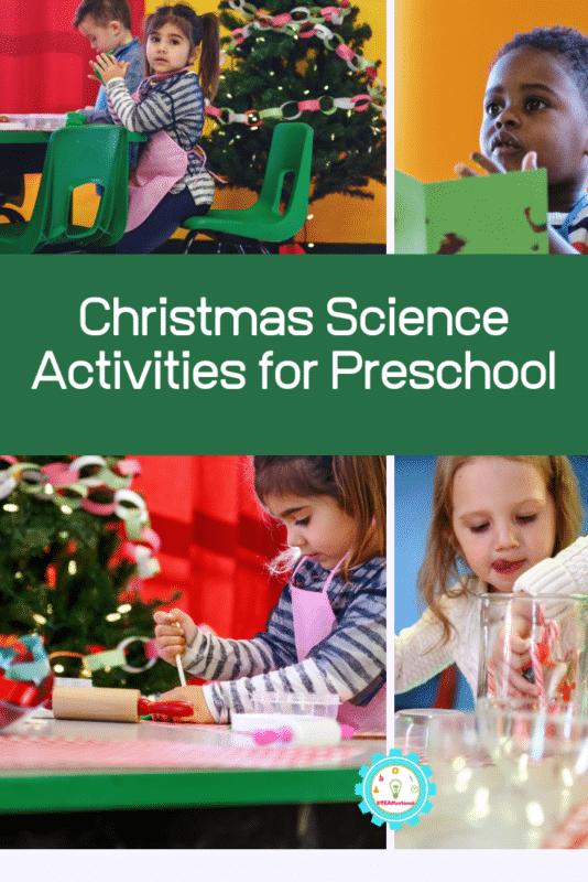 Christmas Science Activities for Preschool