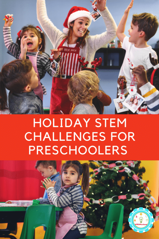 Holiday STEM Challenges for Preschoolers