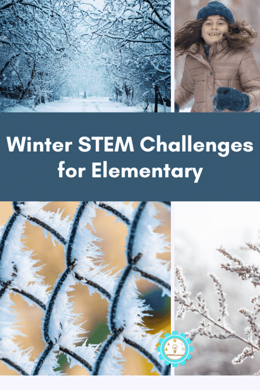 Winter STEM Challenges for Elementary