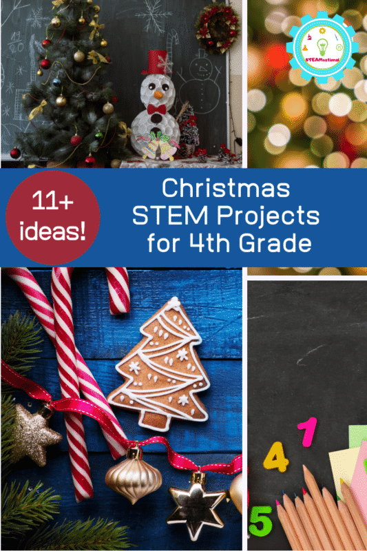 christams stem projects for 4th grade