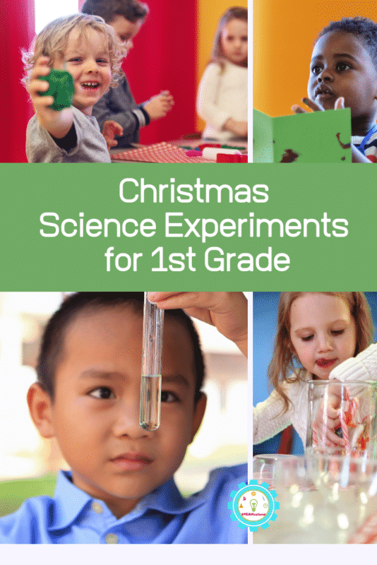 christmas science experiments for 1st grade