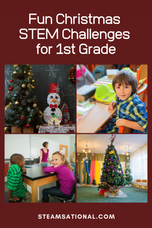christmas stem challenges for 1st grade