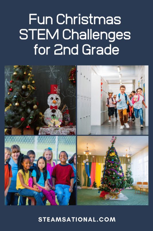 christmas stem challenges for 2nd grade
