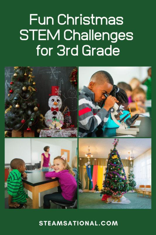 christmas stem challenges for 3rd grade