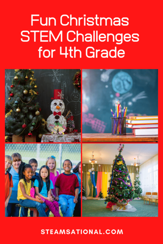 christmas stem challenges for 4th grade