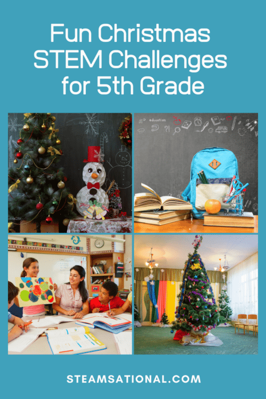 christmas stem challenges for 5th grade