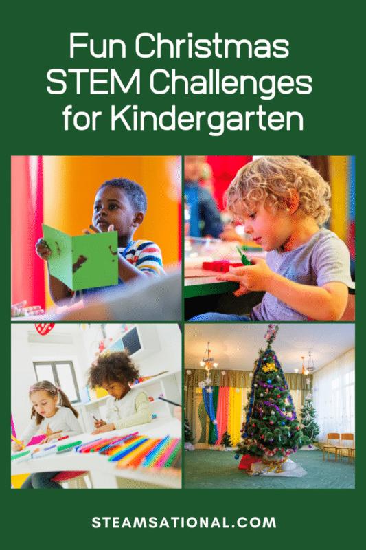 christmas stem challenges for kindergarten