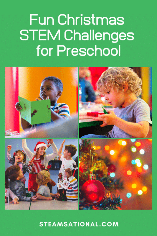 christmas stem challenges for preschool