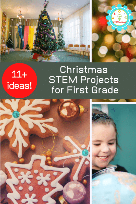 christmas stem projects for 1st grade