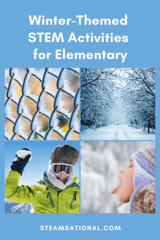 winter themed stem activities for elementary