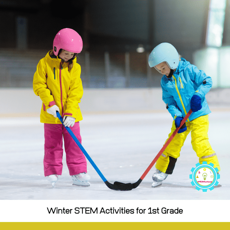 Try these winter STEM activities for 1st grade and foster a love of STEM education starting as early as 1st grade!