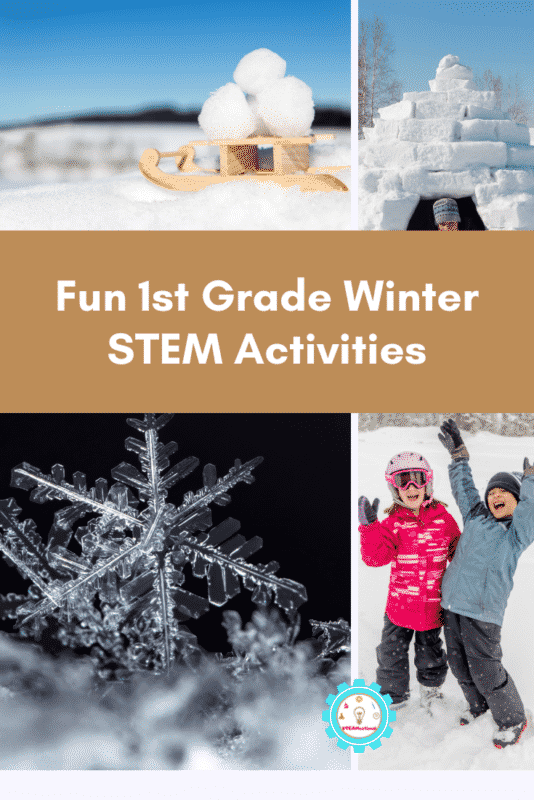 first grade winter stem activities