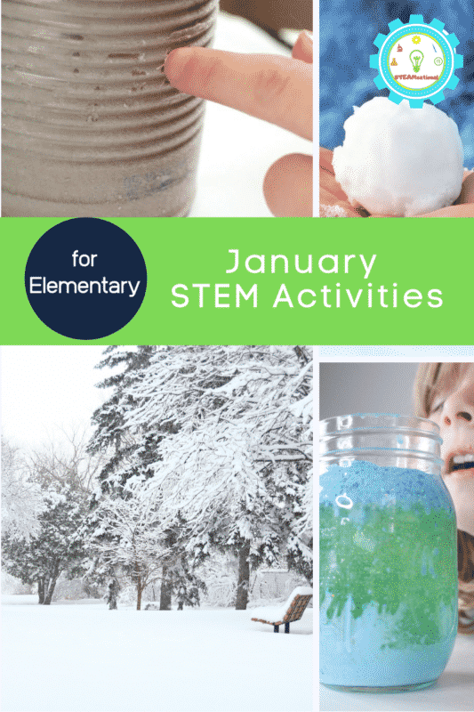 january stem activity ideas