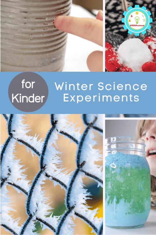 kindergarten winter science experiments