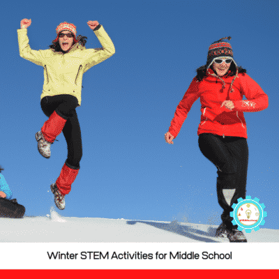 This list of winter stem activities for middle school offers a fun list of middle school winter STEM activities that kids can try in the classroom or at home.