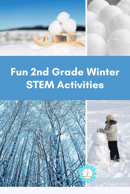 second grade winter stem activities