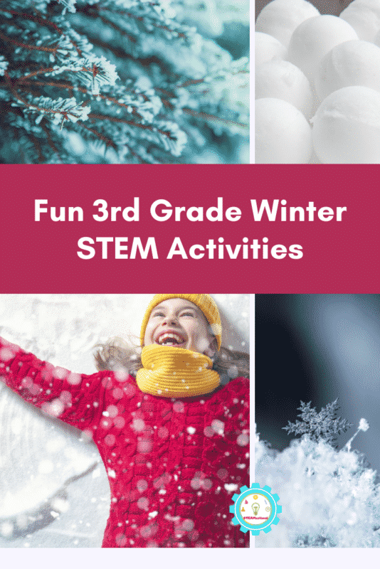 third grade winter stem activities