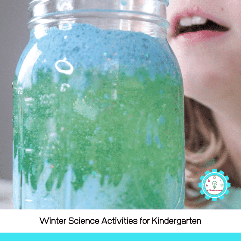 Looking for winter science experiments for kindergarten?We've rounded up our favorite kindergarten winter science experiments here!