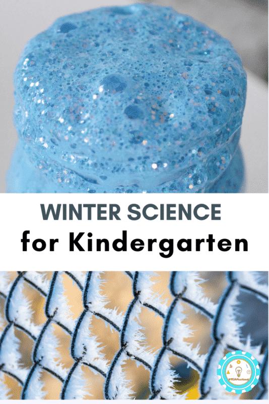 winter science lesson plans for kindergarten