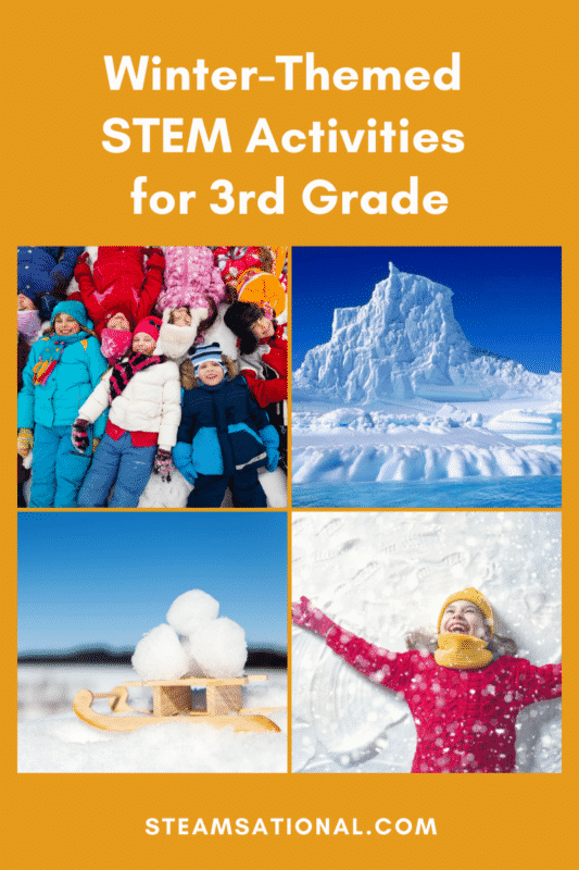 winter stem activities for 3rd grade
