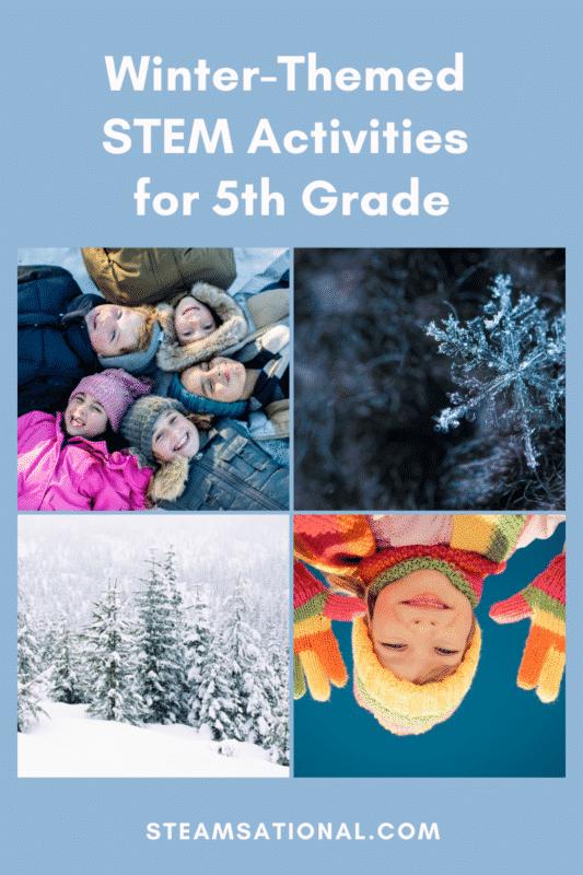 winter stem activities for 5th grade
