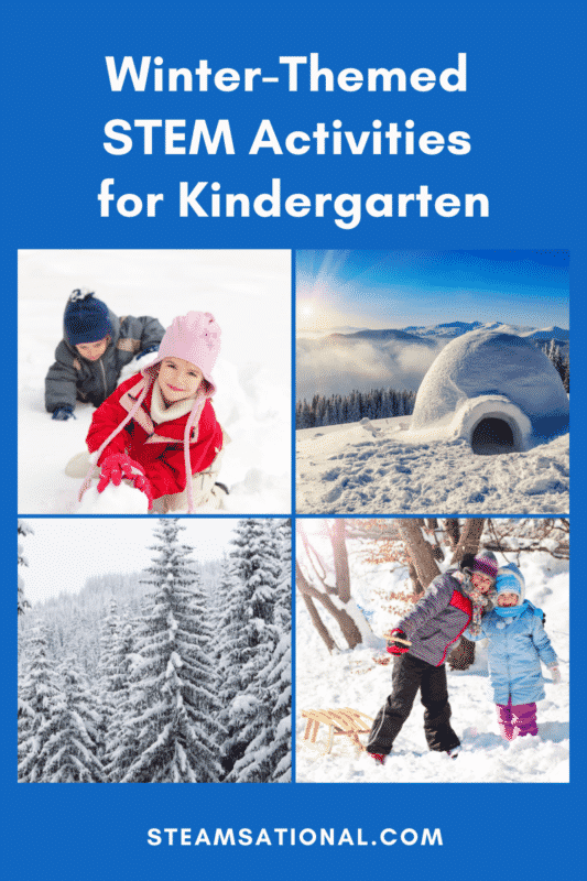 winter stem activities for kindergarten