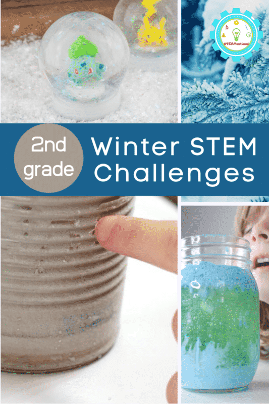 winter stem challenges for 2nd grade