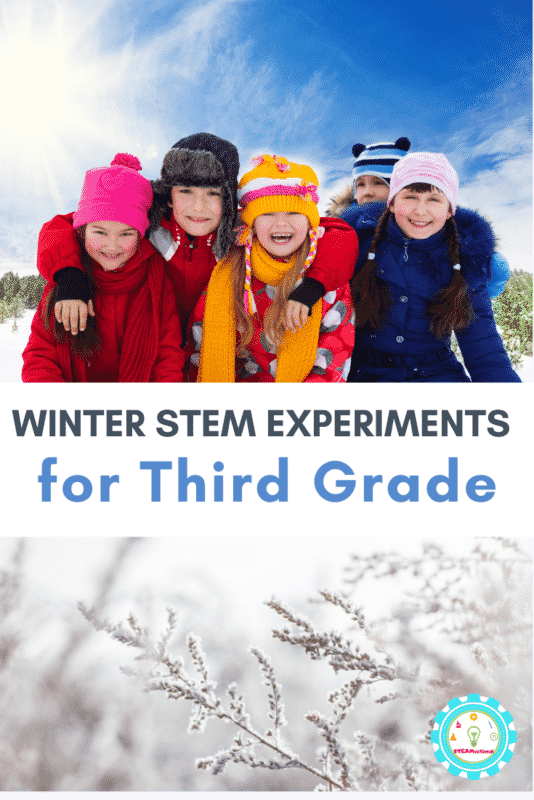 winter stem experiments for 3rd grade