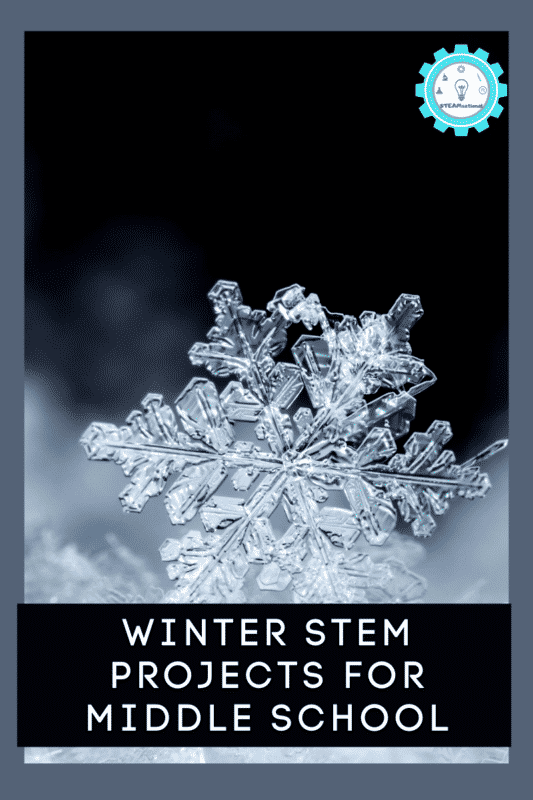 winter stem projects for middle school