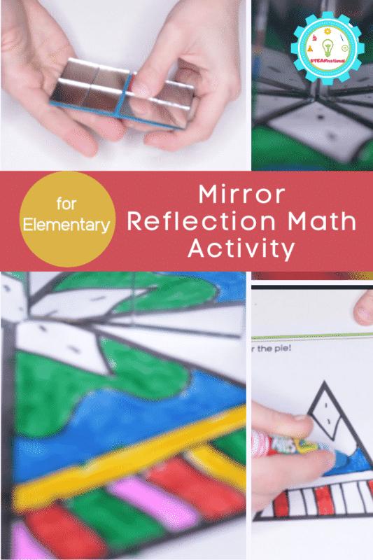 Mirror Reflection Math Activity