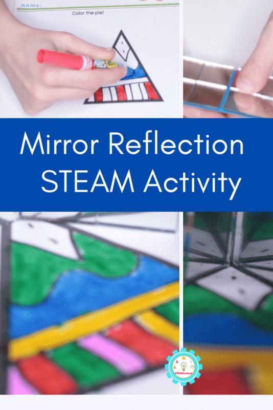 Mirror Reflection STEAM Activity