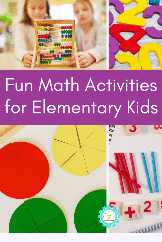 fun math activities for elementary