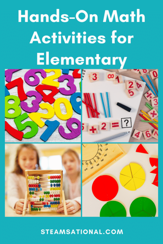 hands on math activities for elementary