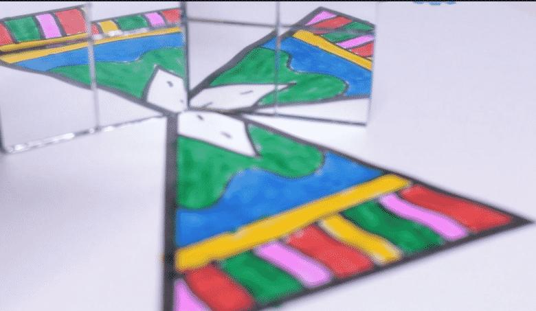 symmetry art activity