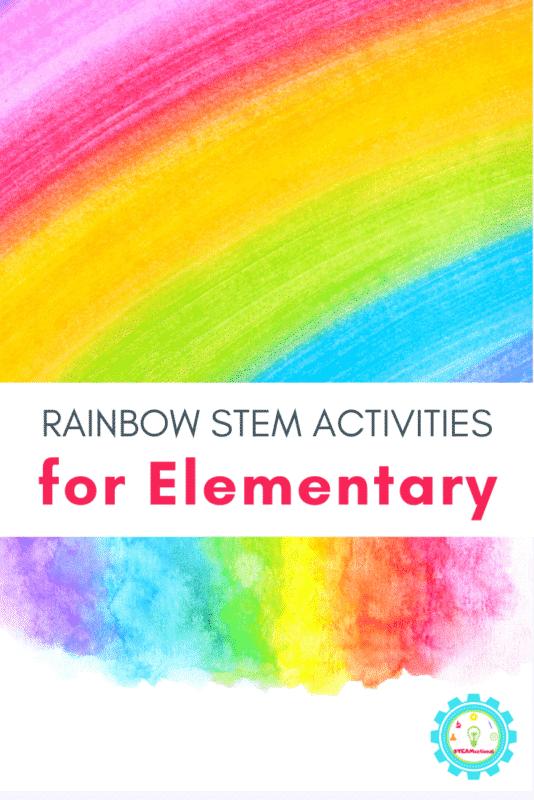 rainbow stem activities