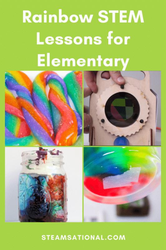 rainbow stem lessons