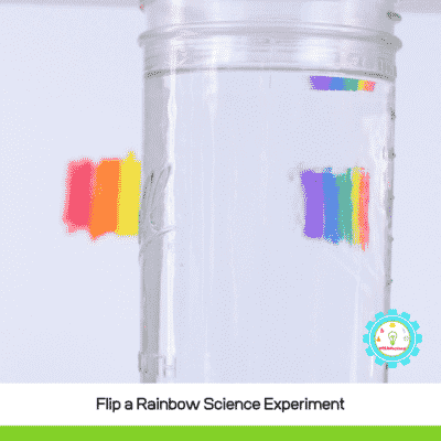Flip a Rainbow Light Refraction Experiment