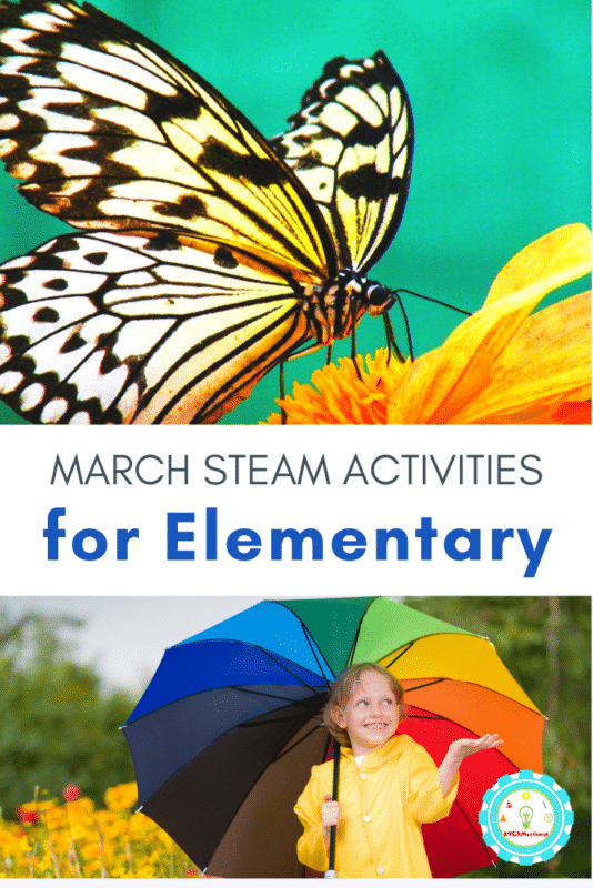 If you need March STEM activities and MArch STEAM activities, we've got you covered! Find directions for our favorite March STEM ideas here.